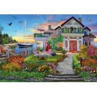 упаковка игры Пазл «Дом на берегу залива» 3000 элементов