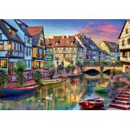 упаковка игры Пазл «Канал Кольмар. Франция» 3000 элементов