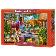 упаковка игры Пазл «Тигры возвращаются к жизни» 3000 элементов