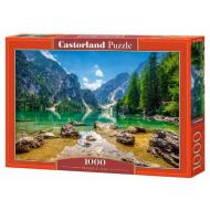 упаковка игры Пазл «Озеро в горах» 1000 элементов