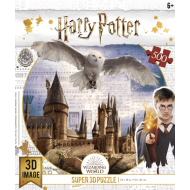 упаковка игры Пазл Super 3D Harry Potter «Harry Potter. Хогвартс и Букля» 500 элементов