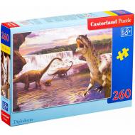 упаковка игры Пазл «Динозавры» 260 элементов