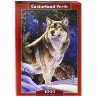 упаковка игры Пазл «Страж. Волк» 1000 элементов