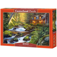 упаковка игры Пазл «Дом у ручья» 1000 элементов