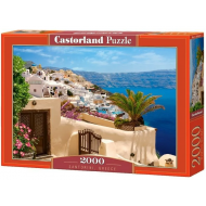 упаковка игры Пазл «Санторини Греция» 2000 элементов