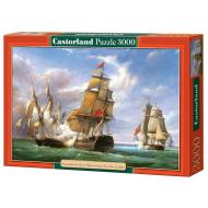 упаковка игры Пазл «Парусник» 3000 элементов