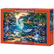 упаковка игры Пазл «Джунгли» 1500 элементов