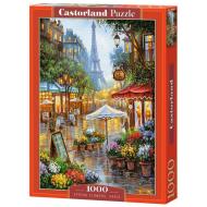 упаковка игры Пазл «Весенние цветы. Париж» 1000 элементов