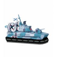 упаковка игры Модель Катер на воздушной подушке Умная бумага
