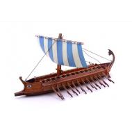 упаковка игры Модель Греческая бирема Умная бумага