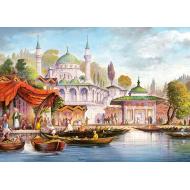 упаковка игры Пазл Стамбул 3000 элементов Castorland