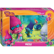 упаковка игры Пазл Trolls 104 элемента Step Puzzle