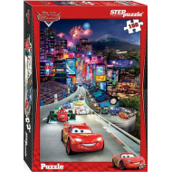 упаковка игры Пазл Тачки 160 элементов Step Puzzle