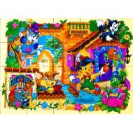 упаковка игры Деревянный пазл Пиноккио