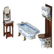 упаковка игры Коллекционный набор мебели Ванная комната Умная бумага