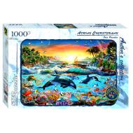 упаковка игры Пазл Касатки Авторская коллекция 1000 элементов Step Puzzle