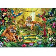 упаковка игры Пазл В джунглях 3000 элементов Step Puzzle