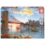 упаковка игры Пазл Бруклинский мост 4000 элементов Educa