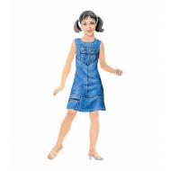 упаковка игры Наряжай и играй кукла Кокетка