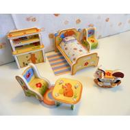 упаковка игры Детская мебель (Умная Бумага) Умная бумага