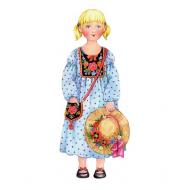 упаковка игры Наряжай и играй кукла Василиса