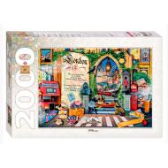 упаковка игры Пазл Лондон Жизнь — открытая книга 2000 элементов Step Puzzle