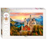 упаковка игры Пазл Сказочный замок 2000 элементов Step Puzzle