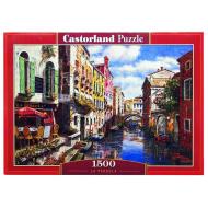 упаковка игры Пазл Кафе 1500 элементов Castorland