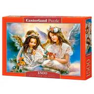 упаковка игры Пазл Подарок от ангела 1500 элементов Castorland