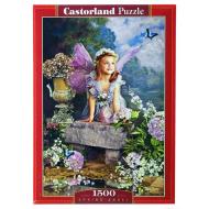 упаковка игры Пазл Весенний ангел 1500 элементов Castorland