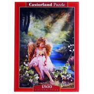 упаковка игры Пазл Золотой пруд 1500 элементов Castorland
