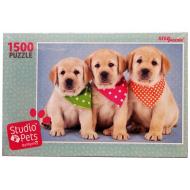 упаковка игры Пазл Studio Pets By Myrna 1500 элементов Step Puzzle