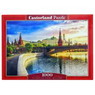 упаковка игры Пазл Набережная Москва 1000 элементов Castorland