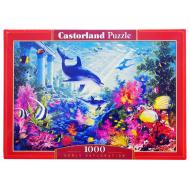 упаковка игры Пазл Подводный мир 1000 элементов Castorland