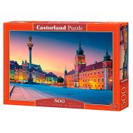упаковка игры Пазл Замковая площадь Варшава 500 элементов Castorland