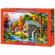 упаковка игры Пазл Старая мельница 500 элементов Castorland