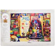 упаковка игры Пазл Париж Жизнь — открытая книга 1500 элементов Step Puzzle