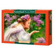 упаковка игры Пазл Бабочка и ангел 1000 элементов Castorland