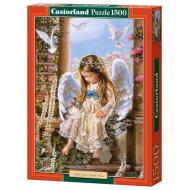 упаковка игры Пазл Нежная любовь 1500 элементов Castorland
