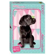 упаковка игры Пазл Собака Studio Pets by Myrna 1000 элементов Step Puzzle
