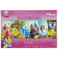 упаковка игры Пазл панорама Принцессы Дисней 1000 элементов Step Puzzle