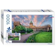 упаковка игры Пазл Санкт-Петербург 1000 элементов Step Puzzle