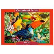 упаковка игры Пазл Туканы 3000 элементов Castorland