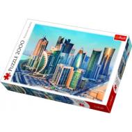 упаковка игры Пазл Доха, Катар 2000 элементов Trefl