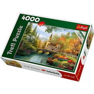 упаковка игры Пазл Осенная ностальгия 4000 элементов Trefl
