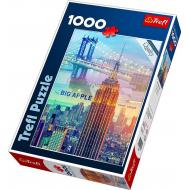 упаковка игры Пазл Нью-Йорк на рассвете 1000 элементов Trefl