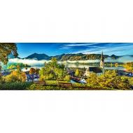 упаковка игры Пазл На берегу озера, Шлирзе панорамный 1000 элементов Trefl