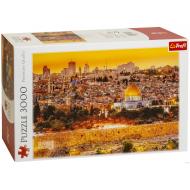 упаковка игры Пазл Крыши Иерусалима 3000 элементов Trefl