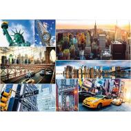 упаковка игры Пазл Нью-Йорк - коллаж 4000 элементов Trefl