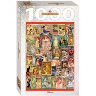 упаковка игры Пазл Art Nouveau 1000 элементов Step Puzzle
